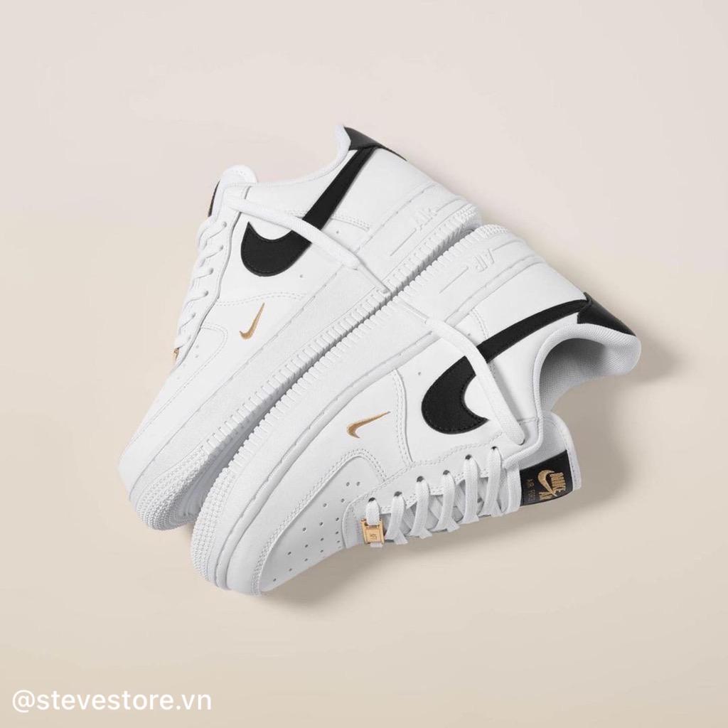 Hàng Chính Hãng Nike Air Force 1 Ess Black Gold CZ0270102