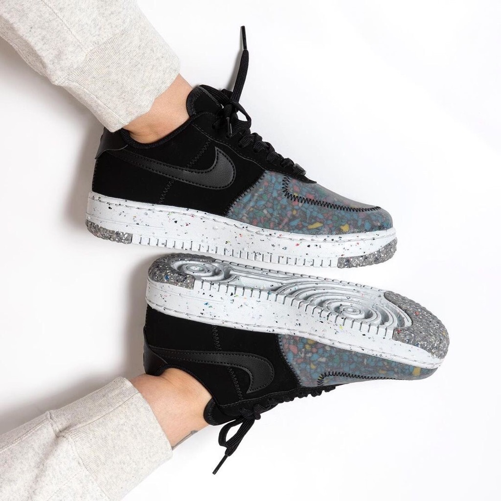 Hàng Chính Hãng Nike Air Force 1 Crater Black CZ1524002