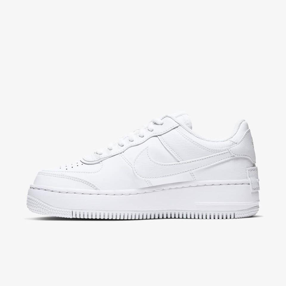 Hàng Chính Hãng Nike Air Force 1 Shadow AllWhite