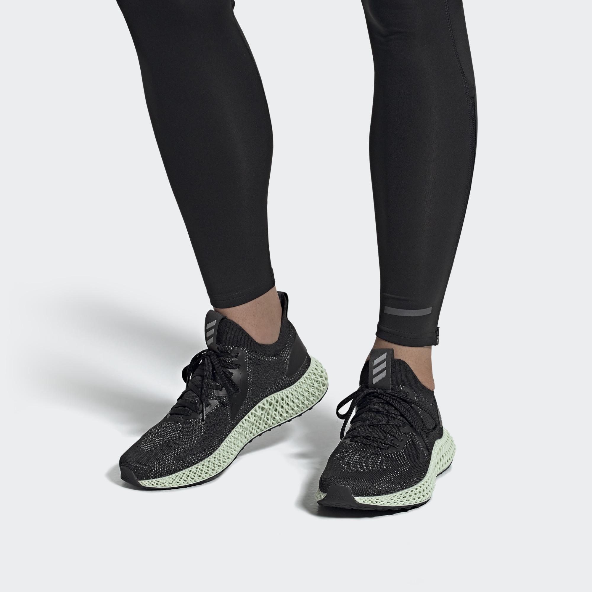 """Hàng chính hãng Adidas Alphaedge 4D Reflective """"Core Black"""" FV4686"""