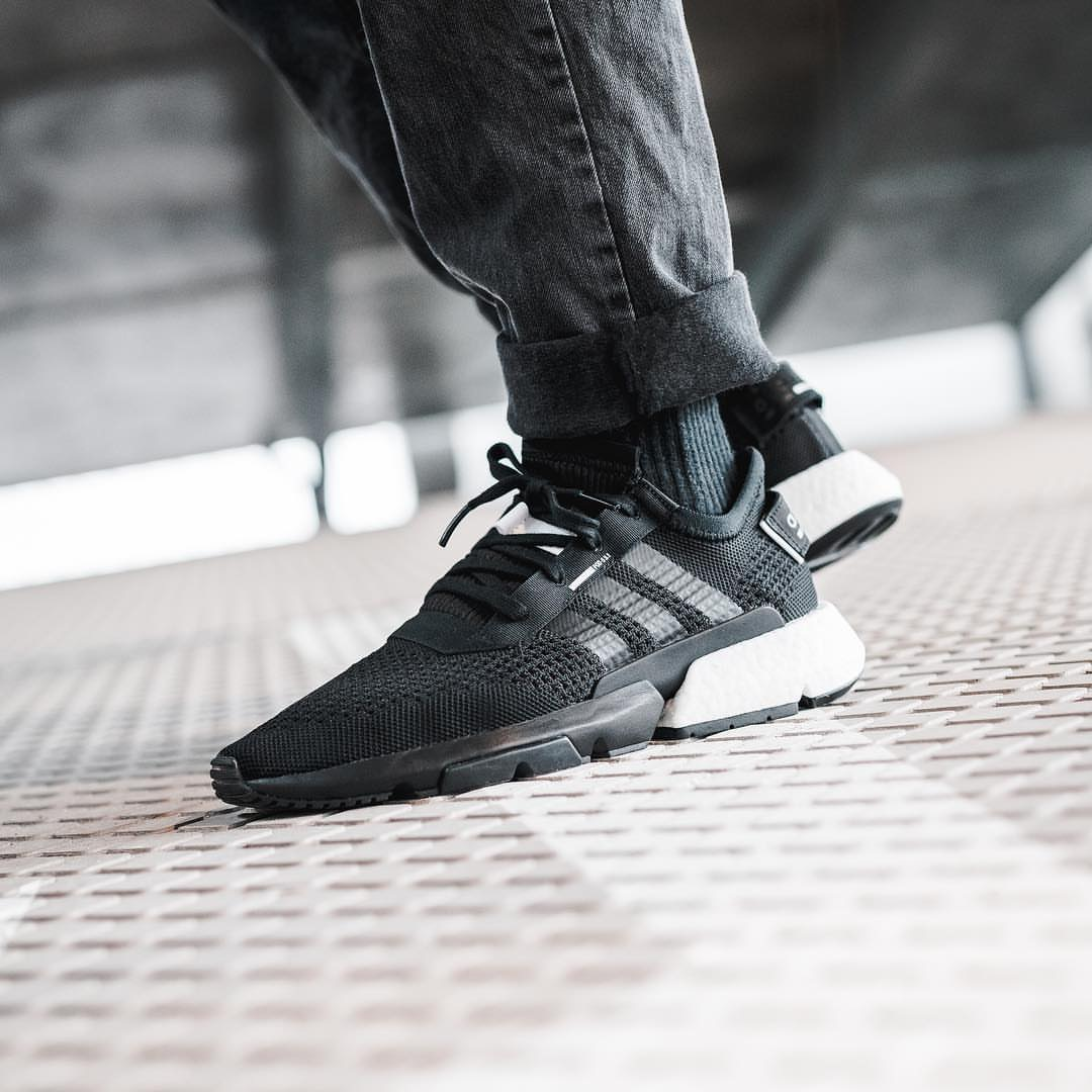 Hàng chính hãng Adidas P.O.D  Đen