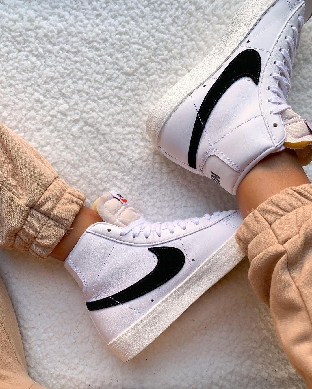 Hàng chính hãng Nike Blazer Mid White BQ6806100