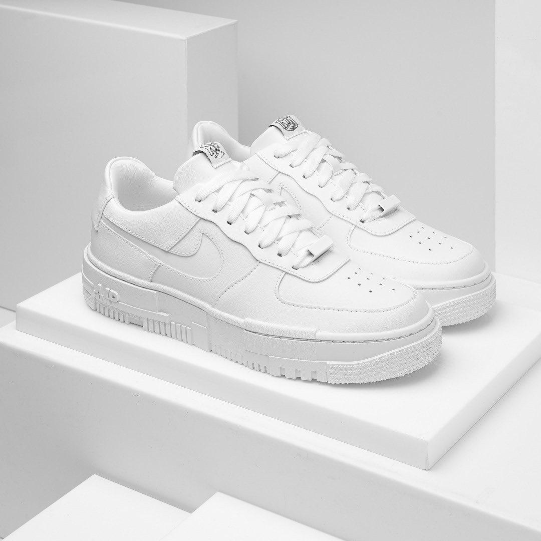 Hàng Chính Hãng Nike Air Force 1 Pixel White ck6649100