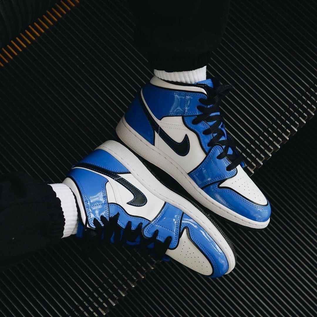 Hàng chính hãng Nike Air Jordan 1 Signal Blue bq6931402
