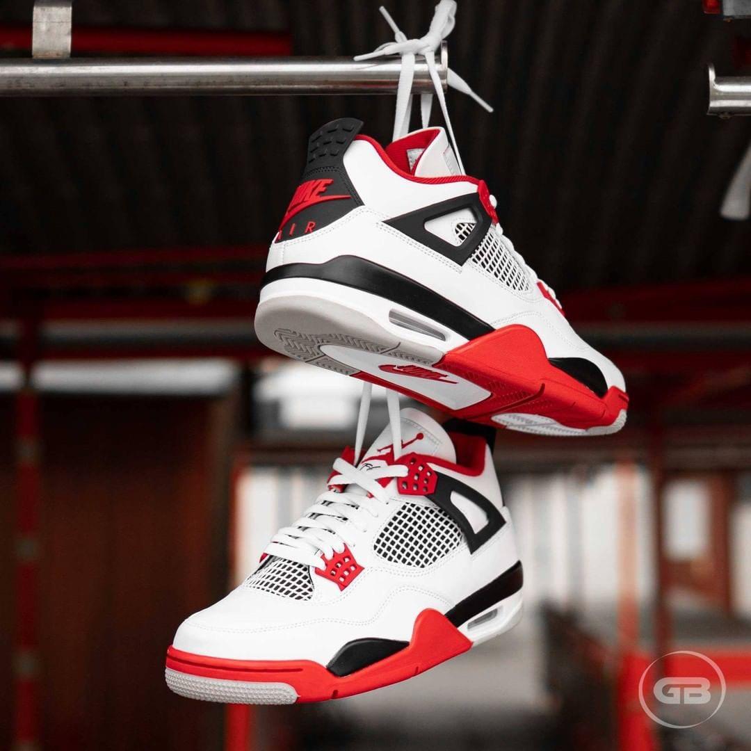 Hàng chính hãng Nike Air Jordan 4 Fire Red 408452160