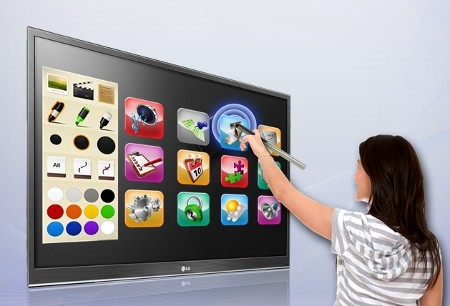 KHUNG CẢM ỨNG TIVI Cách biến TV thường thành màn tương tác thông minh