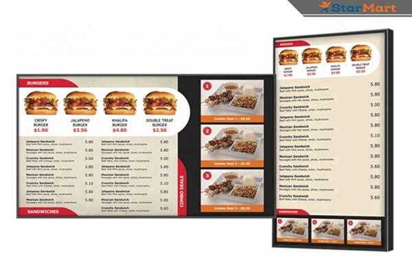 Màn hình quảng cáo cảm ứng IR Touch chuyên dụng