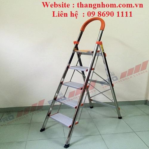 Thang ghế tay vịn inoc Pro PRI-05