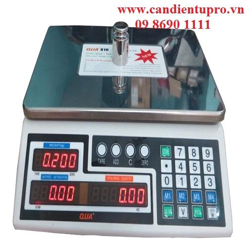 Cân điện tử tính giá Qua 810 30kg/5g