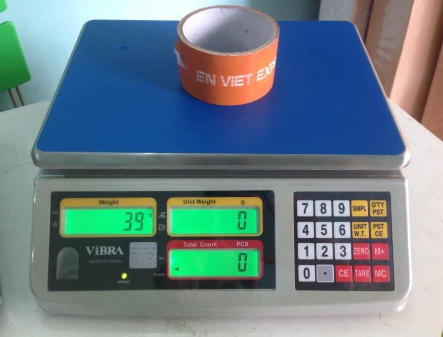 Cân điện tử đếm sản phẩm ALC 30kg/1g