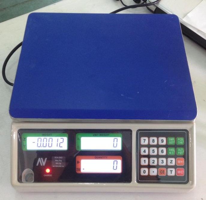 Cân điện tử đếm sản phẩm GAC 15kg/0.5g
