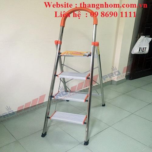 Thang ghế tay vịn inoc Pro PRI-04