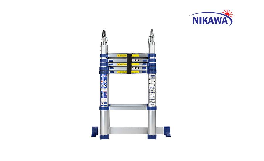 Thang nhôm rút chữ A Nikawa NK-56AI