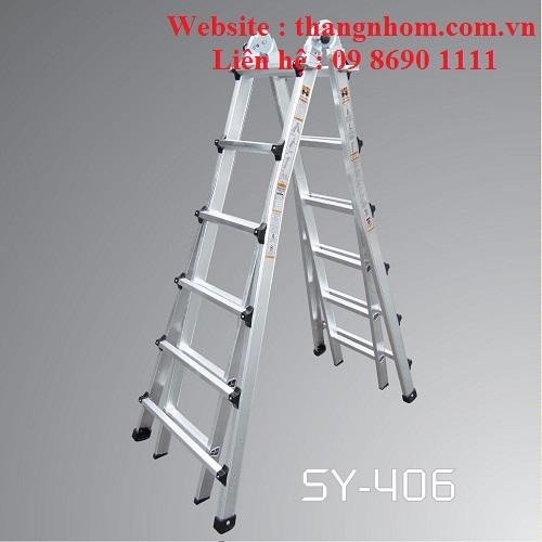 Thang nhôm Sinyang SY-406