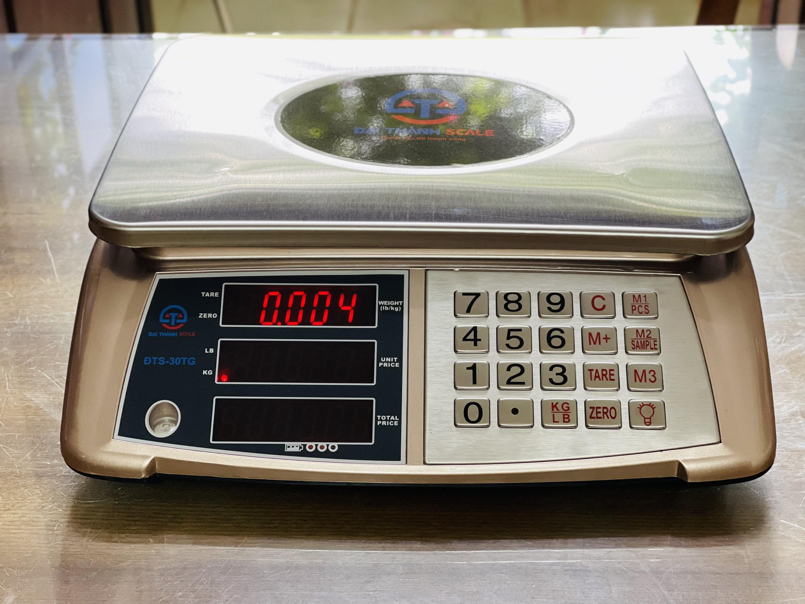 Cân điện tử tính giá Đại Thành ĐTS-30TG