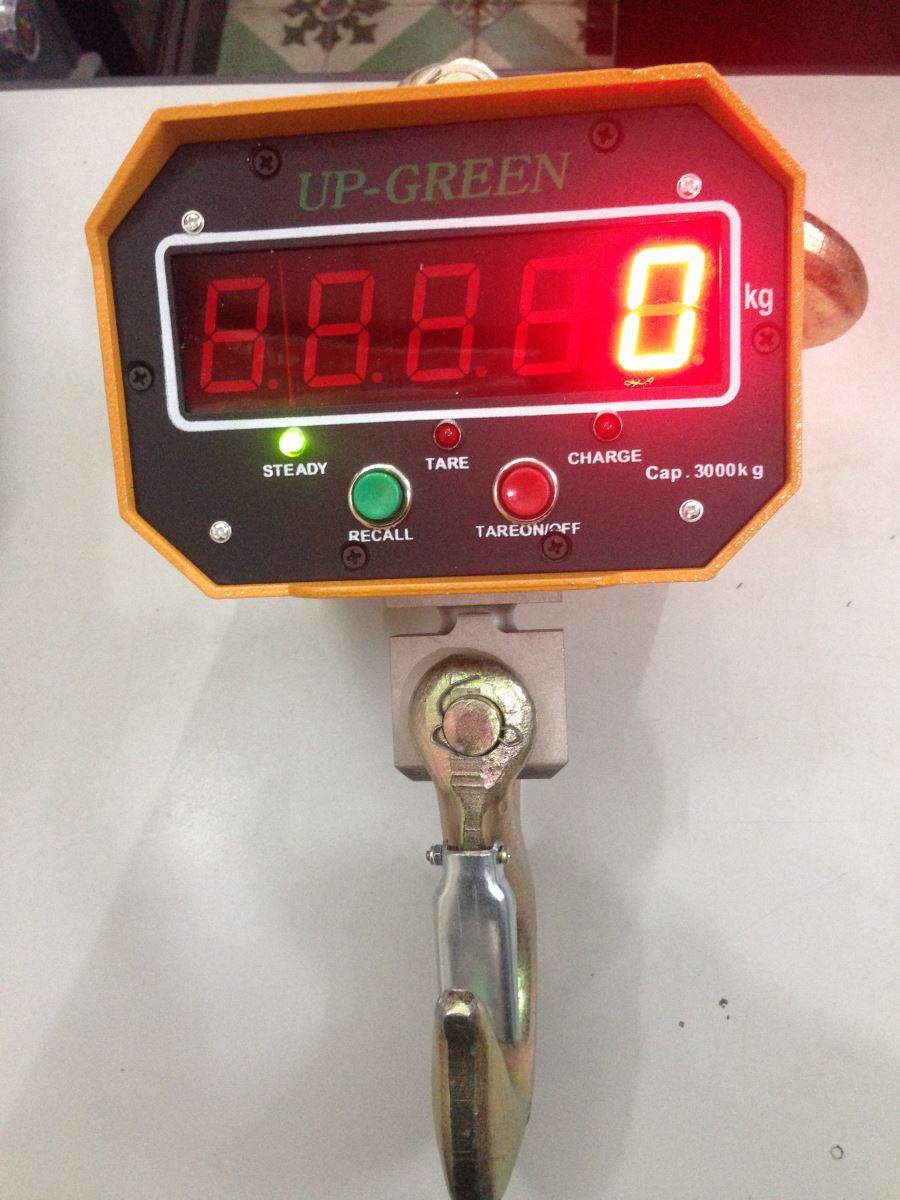 Cân điện tử móc cẩu Upgreen 3 tấn