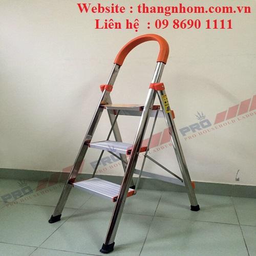 Thang ghế tay vịn inoc Pro PRI-03