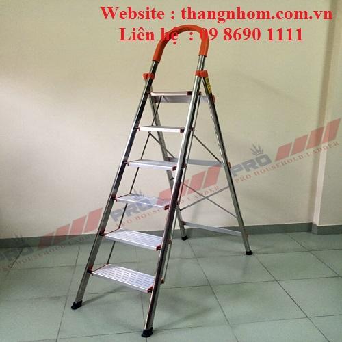 Thang ghế tay vịn inoc Pro PRI-06