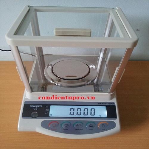 Cân điện tử phân tích Shinko GS-323 (320g/0.001)
