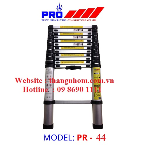 Thang nhôm rút Pro PR-4,4m