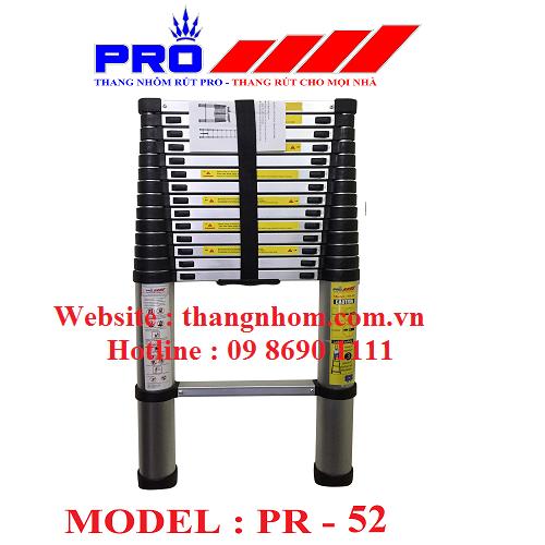 Thang nhôm rút Pro PR-5,2m