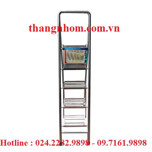 Thang inox Tùng Phát 5 bậc