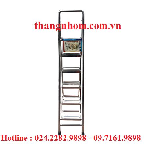 Thang inox Tùng Phát 6 bậc