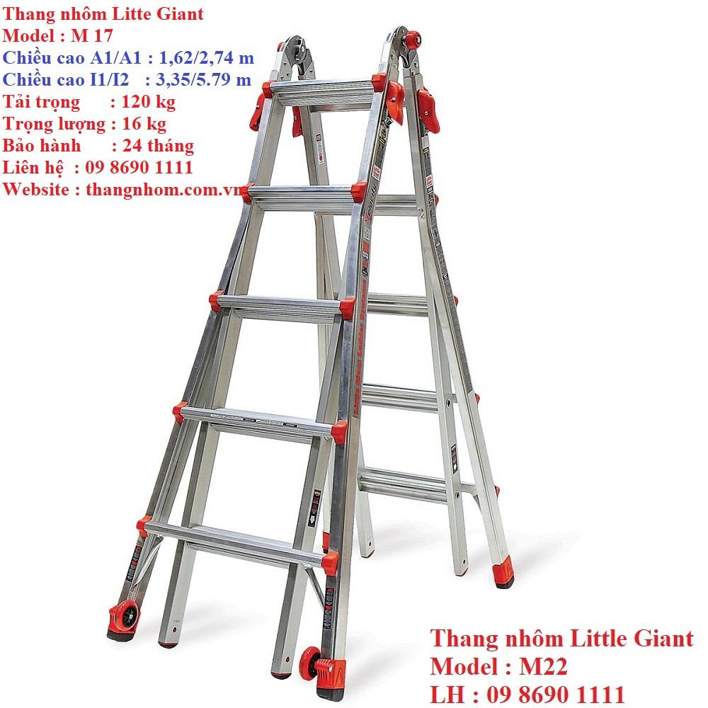 Thang nhôm Little giant M22