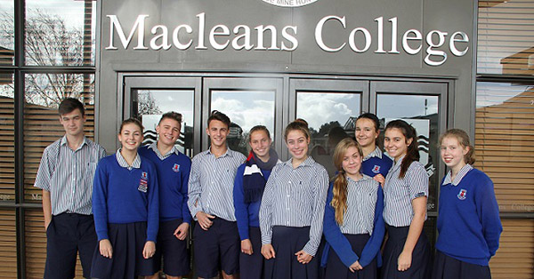 Du học New Zealand: Macleans College