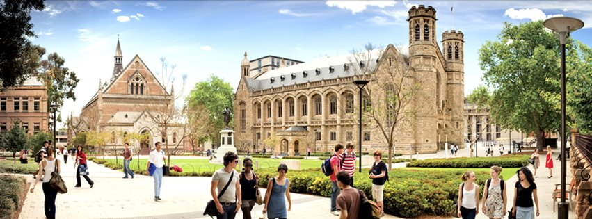 du học Úc University of Adelaide