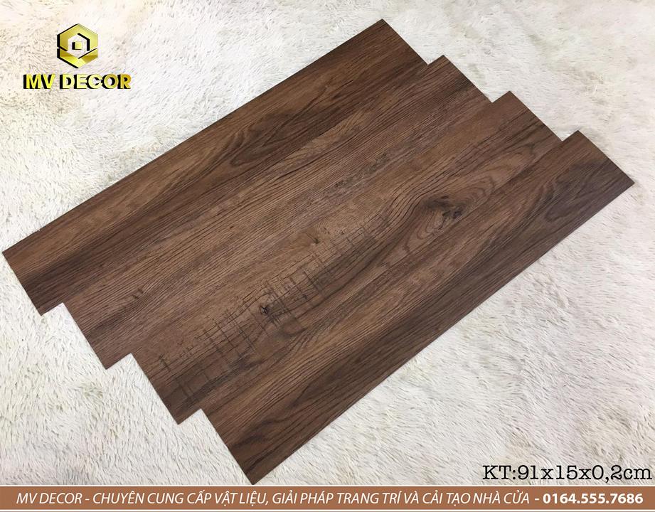 Sàn nhựa vân gỗ tự dính - Mã 05