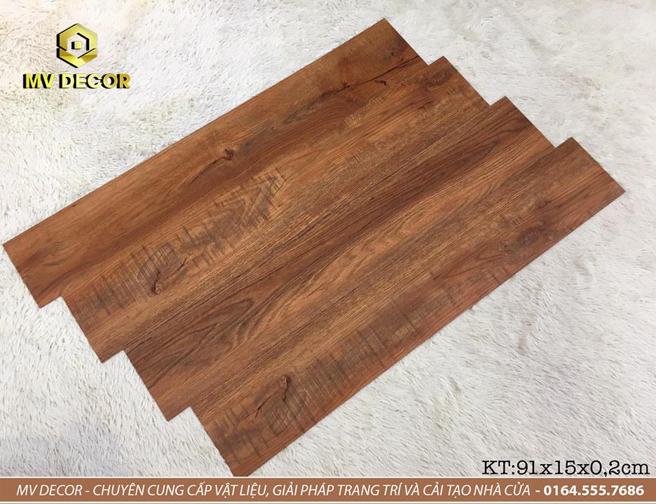 Sàn nhựa vân gỗ tự dính - Mã 07