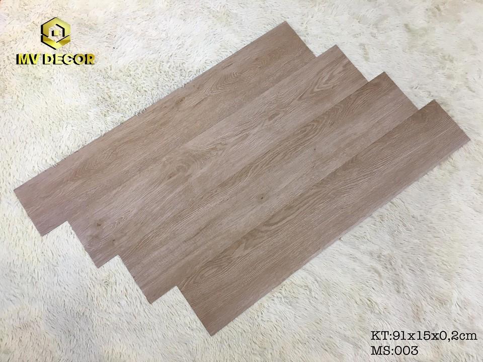 Sàn nhựa vân gỗ tự dính - Mã 03