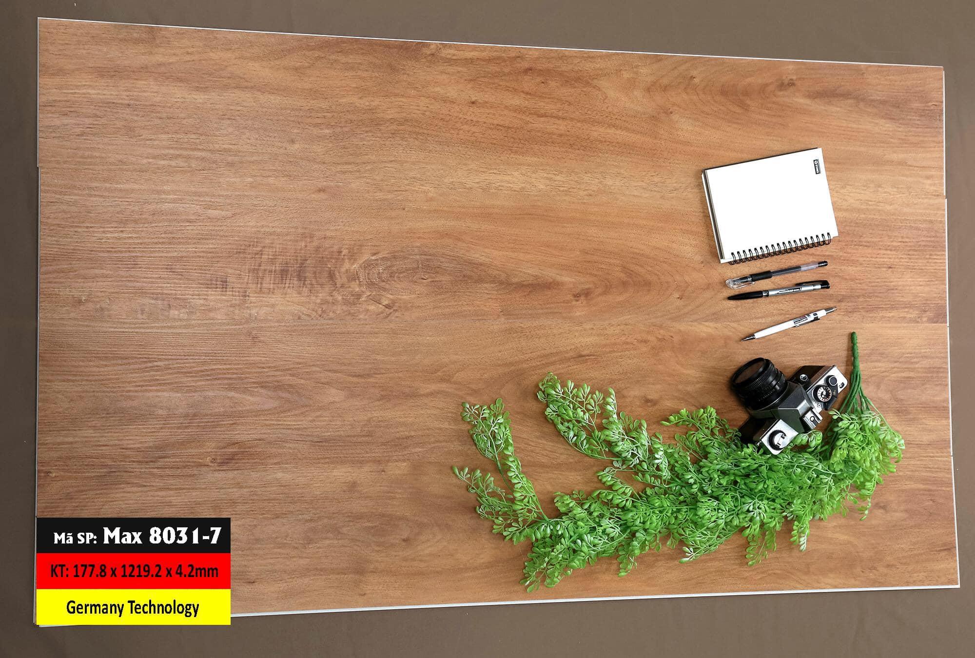 Sàn Nhựa Hèm Khóa Mã 8031-7 Germany