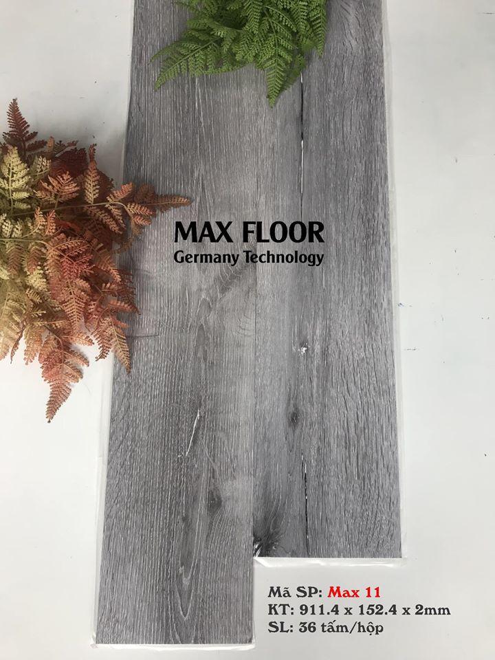 Sàn nhựa vân gỗ tự dính - Mã Max 11