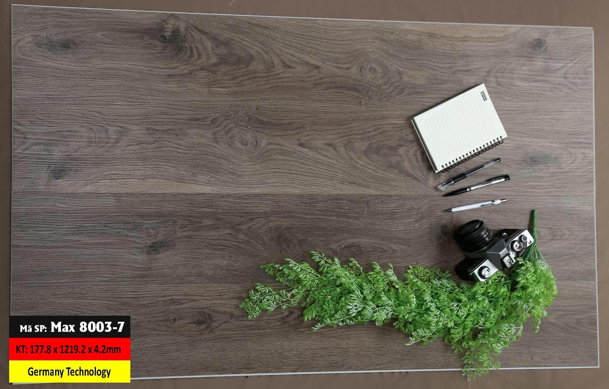 Sàn Nhựa Hèm Khóa Mã 8003-7 Germany