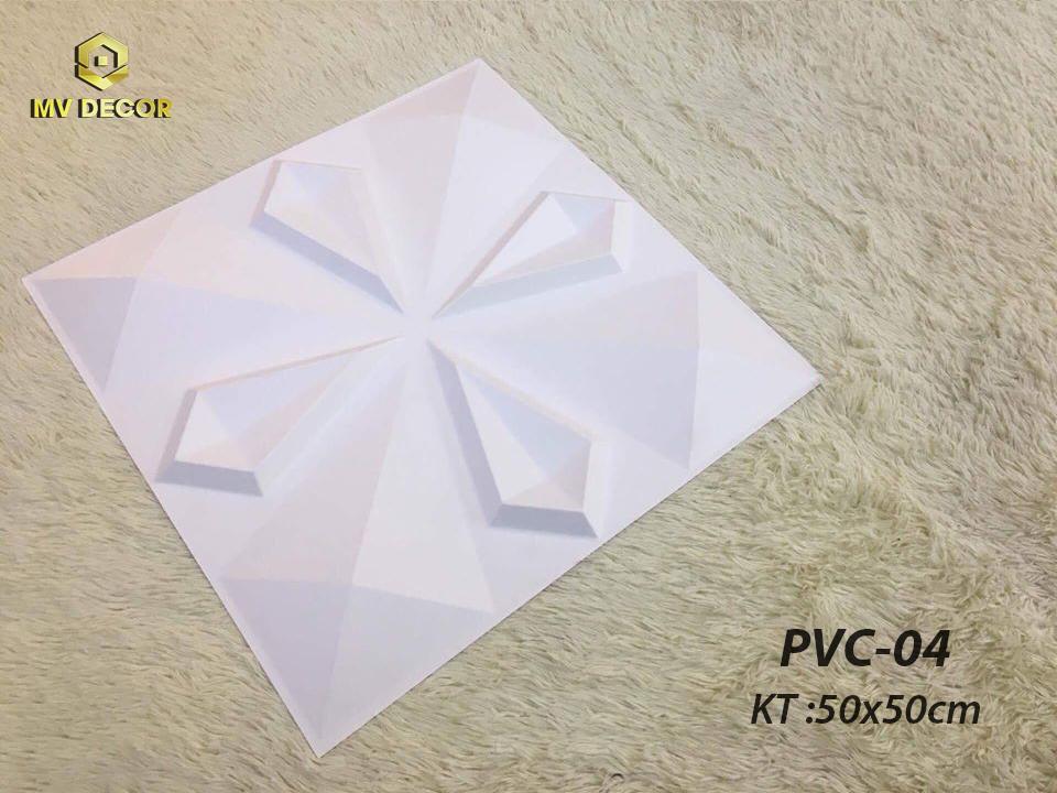 Tấm ốp tường 3D PVC - 04