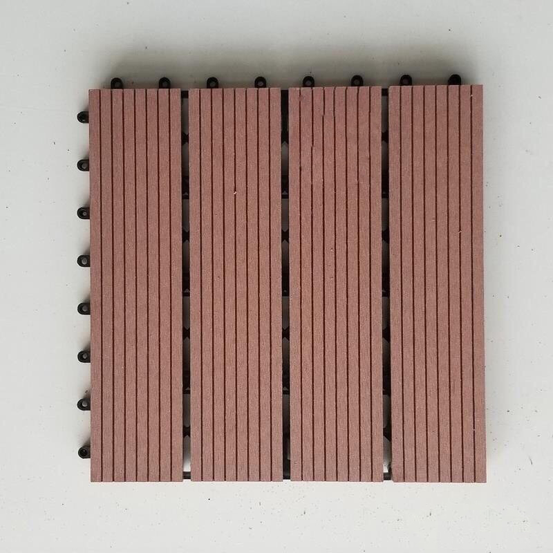 Vỉ Sàn Gỗ Nhựa Composite- Nâu