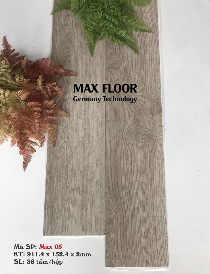 Sàn nhựa vân gỗ tự dính - Mã Max 05