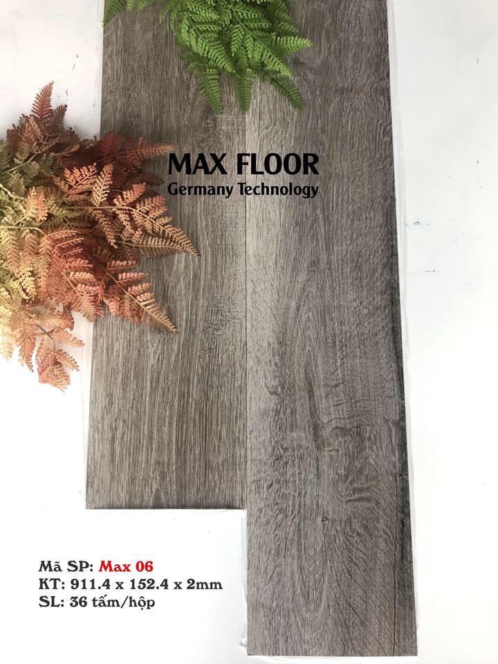 Sàn nhựa vân gỗ tự dính - Mã Max 06