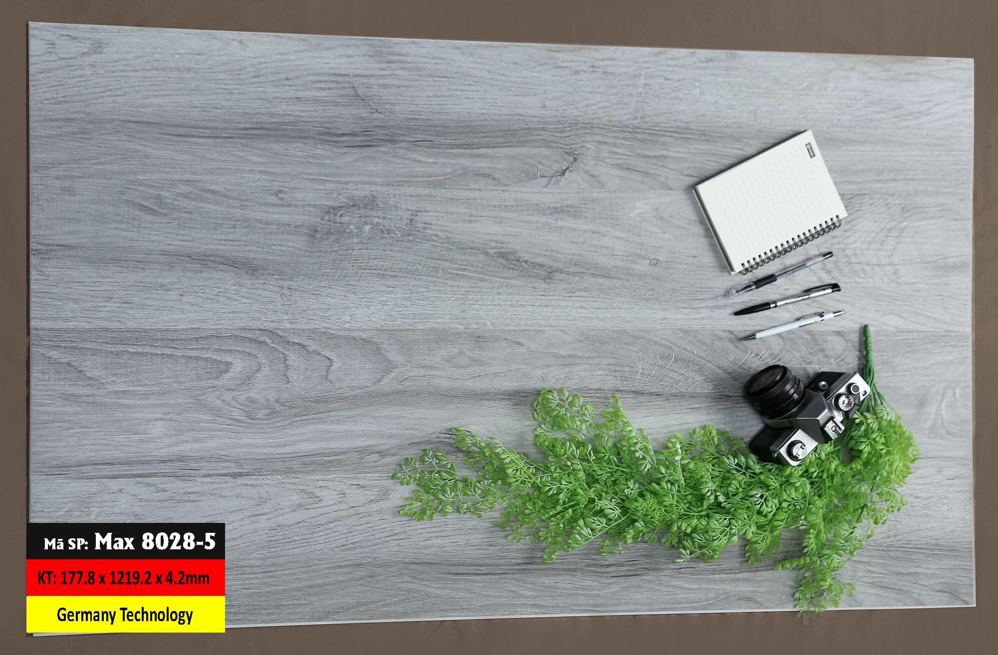 Sàn Nhựa Hèm Khóa Mã 8028-5 Germany