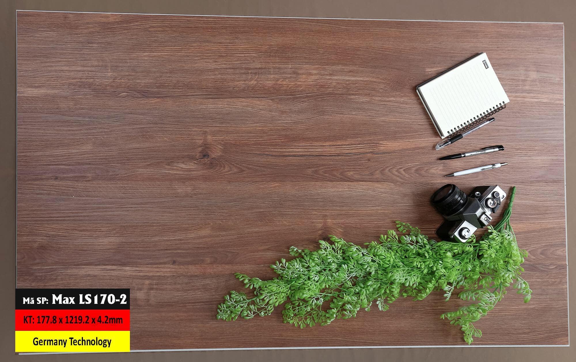 Sàn Nhựa Hèm Khóa Mã LS170-2 Germany