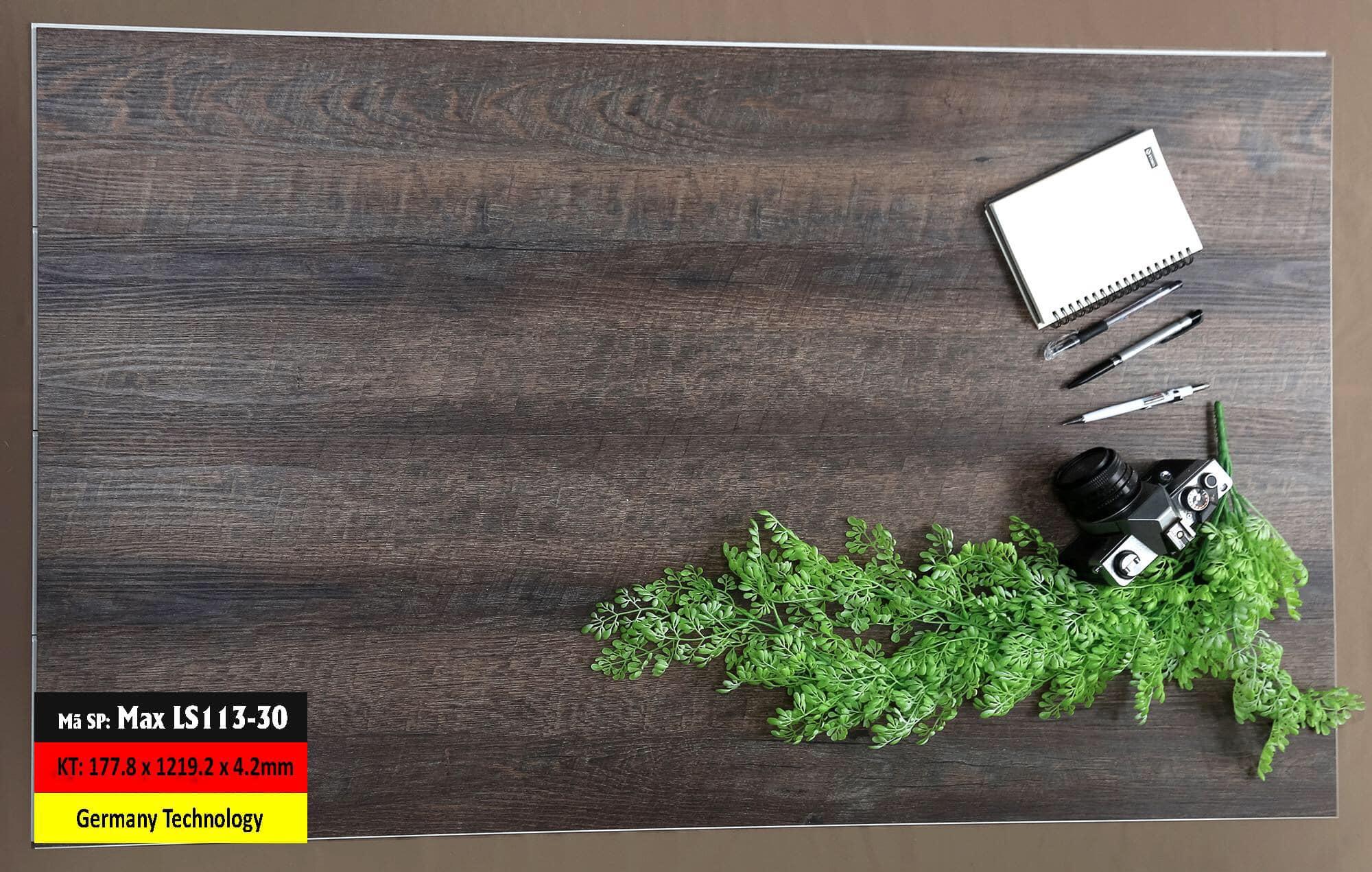 Sàn Nhựa Hèm Khóa Mã LS113-3 Germany
