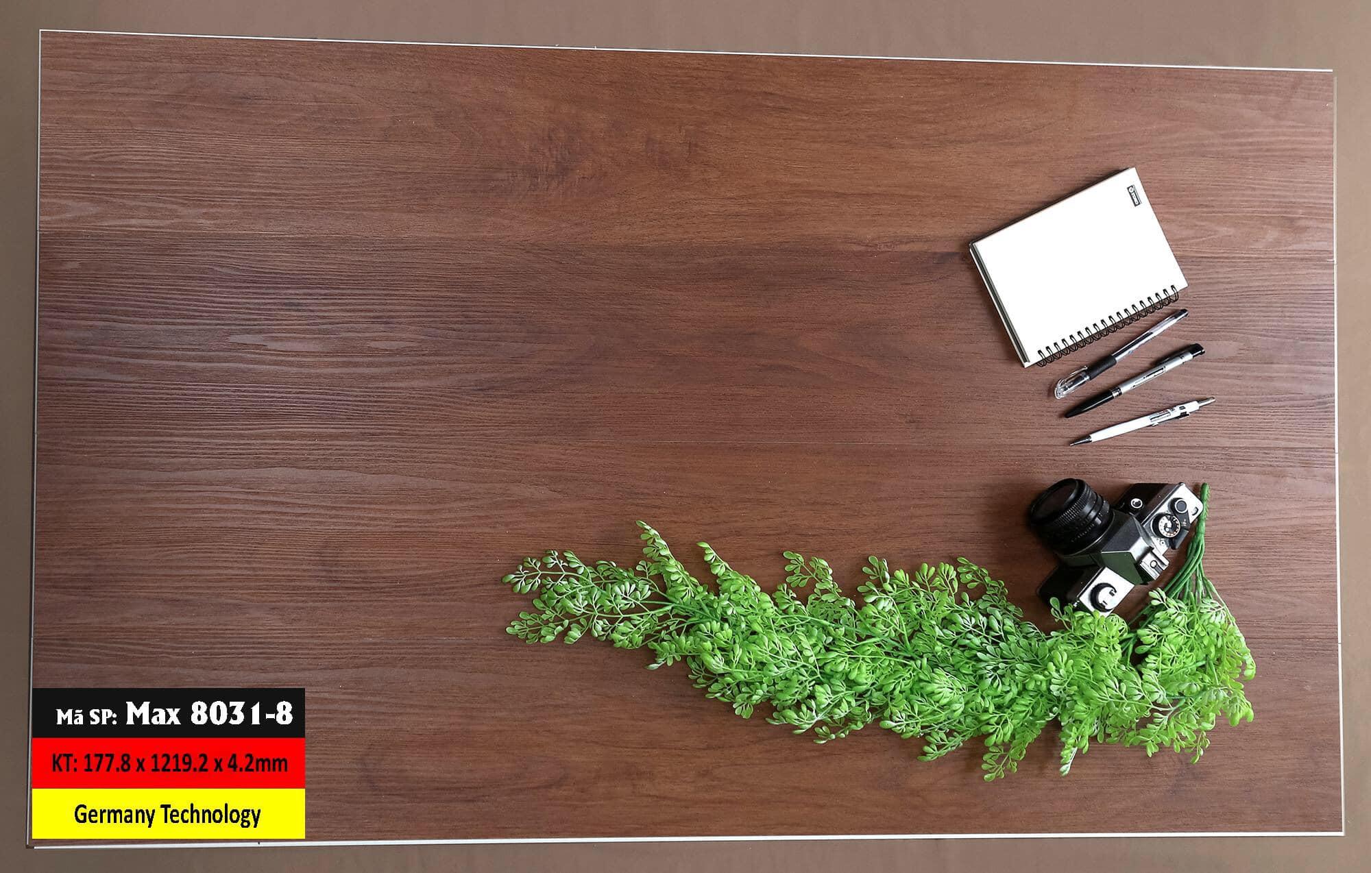 Sàn Nhựa Hèm Khóa Mã 8031-8 Germany