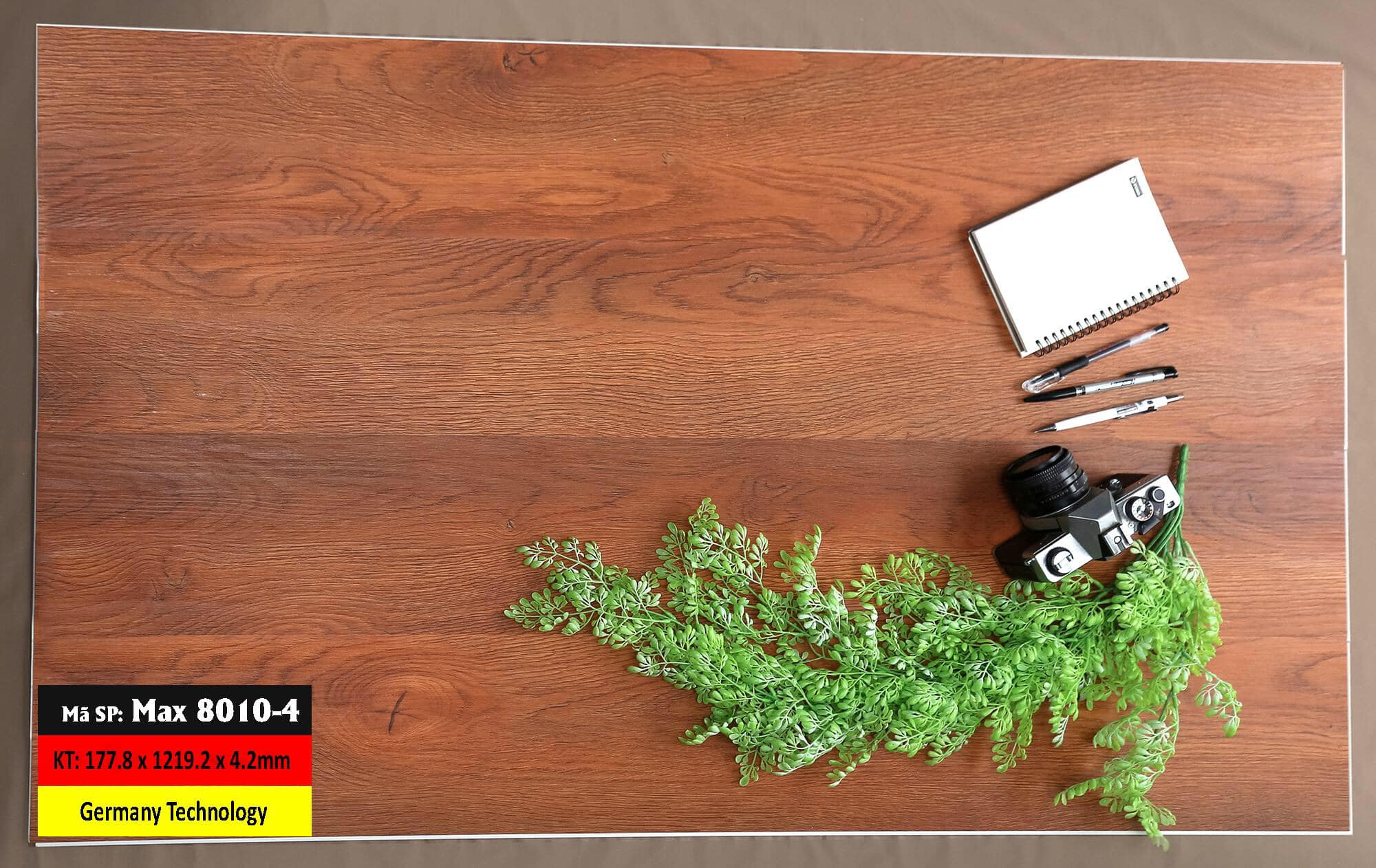 Sàn Nhựa Hèm Khóa Mã 8010-4 Germany
