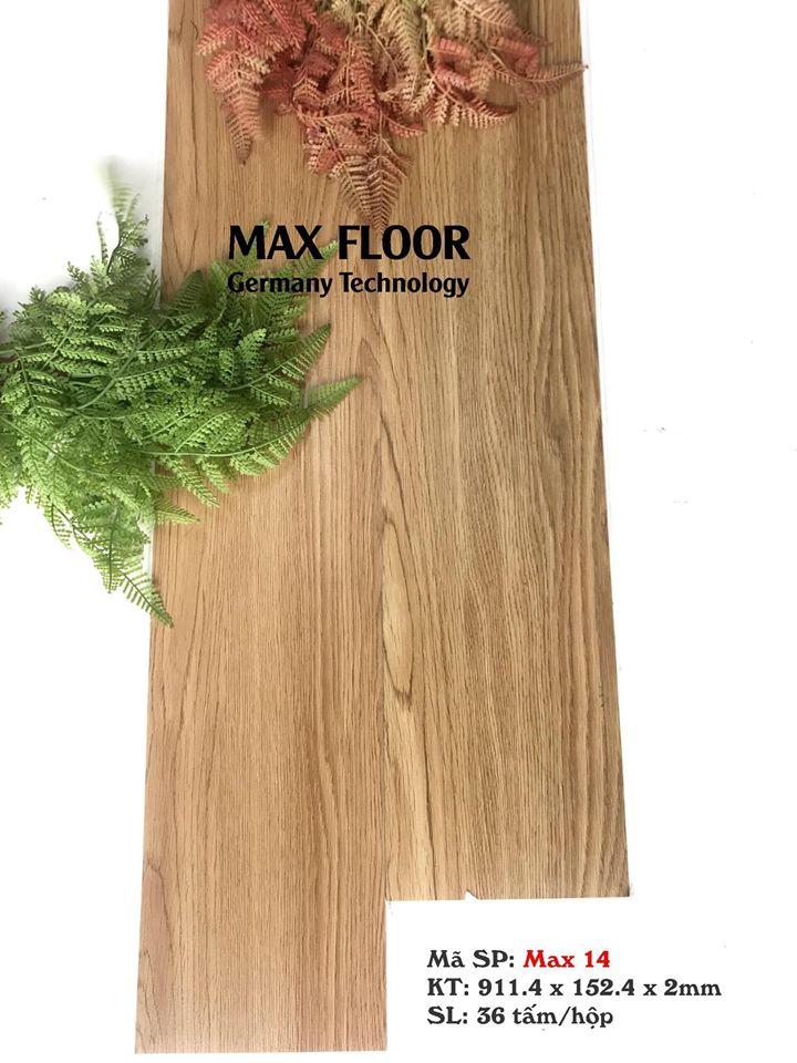 Sàn nhựa vân gỗ tự dính - Mã Max 02