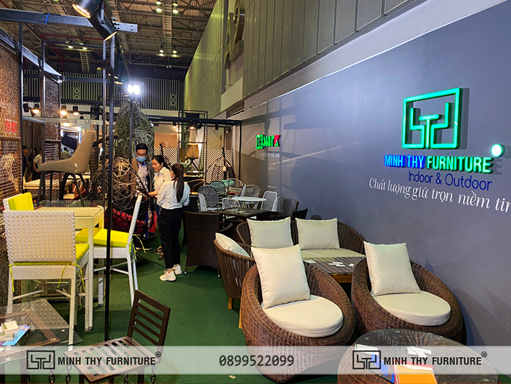 Minh Thy Furniture tại Vietbuild tháng 9 năm 2020