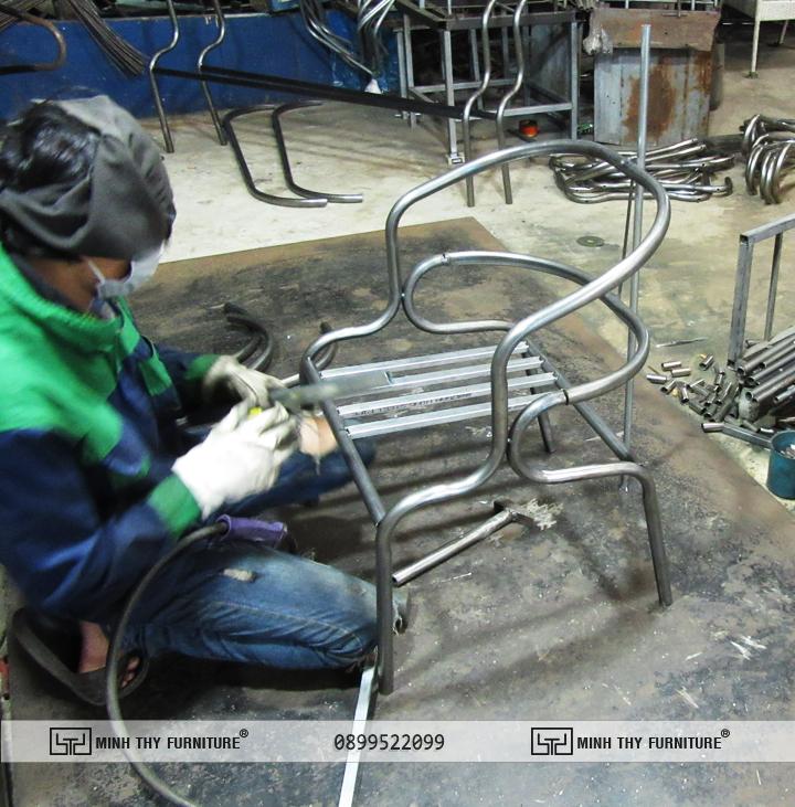 Quá trình sản xuất khung ghế MT 2A229