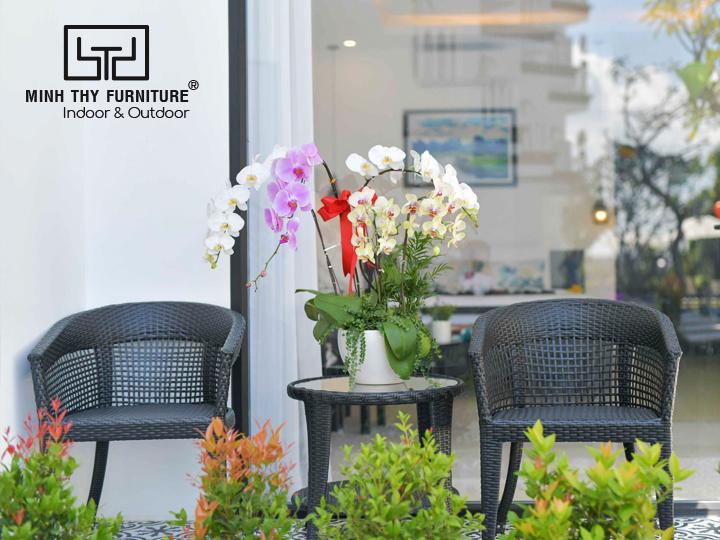 Bàn ghế cafe cho khu vực ban công