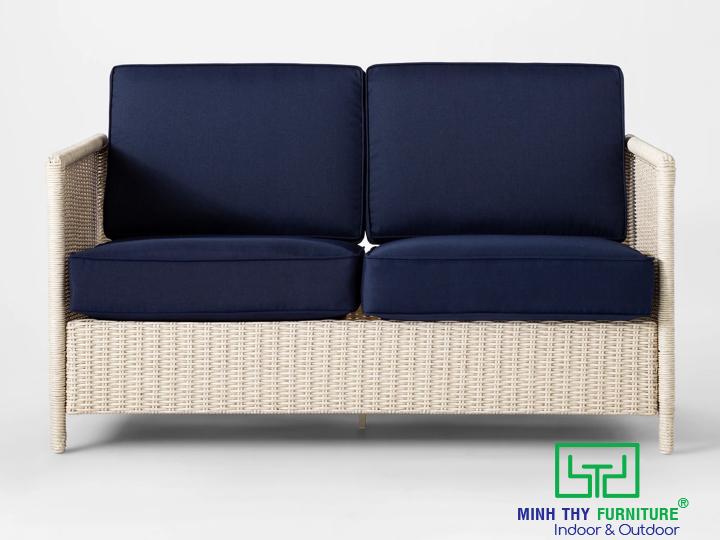 sofa mây nhựaMT1A87